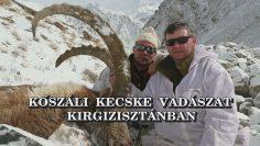 Koszali kecske vadaszat Kirgizisztanban
